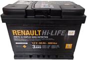 Renault Hi-LIFE (60Ah) 7711238597