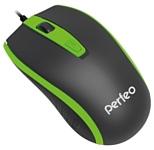 Perfeo PF-383-OP PROFIL Black-Green USB