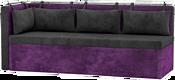 Mebelico Метро 58913 (черный/фиолетовый)