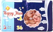 Happy Mum 3 (4-9 кг) 56 шт