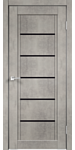Velldoris Next 1 60x200 (муар светло-серый, лакобель черный)