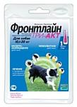 Фронтлайн (Merial) Три-Акт для собак 10,1–20 кг
