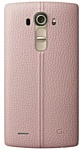 LG Genuine Leather Back для LG G4 (розовый)