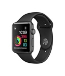 Apple Watch Series 1 38mm Space Gray with Black Sport Band (MP022)