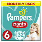 Pampers Pants 6 Monthly Pack (132 шт)