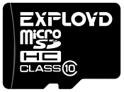 EXPLOYD microSDHC Class 10 16GB