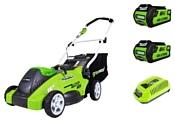 Greenworks 2500007vc G-MAX 40V G40LM40K2X