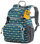 Jack Wolfskin Little Joe 11 blue/yellow (blue petit checks)