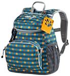 Jack Wolfskin Little Joe 11 blue/yellow (blue petit checks)
