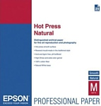 Epson Fine Art Paper Hot Press Natural A2 330 г/м2 (C13S042322)