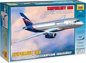 Звезда Региональный пассажирский авиалайнер Superjet 100