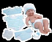 JC Toys Пупс в голубой одежде 18551