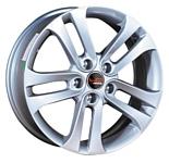 LegeArtis NS63 6.5x16/5x114.3 D66.1 ET40 Silver