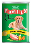 CLAN (0.415 кг) 9 шт. Family Паштет из курицы для собак