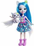 Enchantimals Winsley Wolf Doll and Trooper Animal Figure FRH40