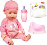 Bondibon OLY в розовом комбинезоне и шапочке ВВ4260