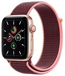 Apple Watch SE GPS + Cellular 44mm Aluminum Case with Sport Loop