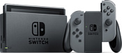 Nintendo Switch 2019 (с серыми Joy-Con)