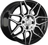 LS Wheels LS785 6.5x15/4x100 D60.1 ET40 BKF