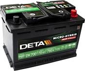 DETA Micro-Hybrid AGM DK700 (70Ah)