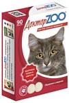 Доктор ZOO для кошек Здоровье кожи и шерсти с биотином и таурином