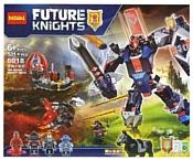 Decool Future Knights 8018 Черный рыцарь
