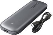 Ugreen M.2 Enclosure USB Type-C (серый)