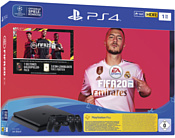 Sony PlayStation 4 Slim 1 ТБ FIFA 20 (2 контроллера)