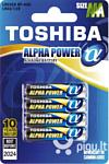 Toshiba LR03GA BP-4(A) Alkaline