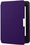 Amazon Kindle Paperwhite Leather Cover Purple