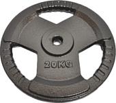 Overtime Hammertone plate 20 кг