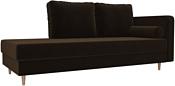 Лига диванов Прайм 100876 (коричневый)