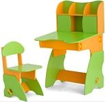 Столики Детям СО-3 салатово-оранжевый