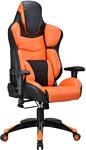 Бюрократ CH-773/BLACK+OR (черный/оранжевый)