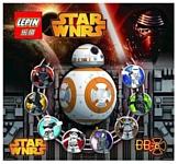 Lepin Star Wnrs 03027 Робот-Дроид BB-8