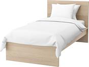 Ikea Мальм 200x90 (дубовый шпон/беленый, Лурой) 392.773.99