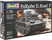 Revell 03229 Немецкий легкий танк PzKpfw II Ausf. F