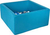Misioo 90x90x40 200 шаров (синий)