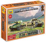 Звезда Т-34 против Пантеры