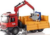 Bruder Mercedes-Benz Arocs Construction truck with accessories 03651