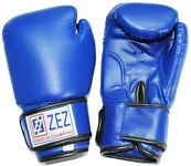 ZEZ Sport PU Blue Gloves