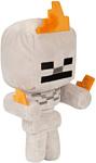 Minecraft Happy Explorer Skeleton on fire 12249