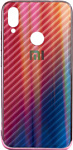 EXPERTS Aurora Glass для Xiaomi Redmi Note 7 с LOGO (розовый)