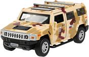 Технопарк Hummer H2 HUM2-12MIL-BN (камуфляж)