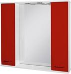 Ювента Франческа ФШН33-87 шкаф с зеркалом красный