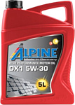 Alpine DX1 5W-30 5л