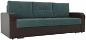 Лига диванов Мейсон 102133 (бирюзовый/коричневый)