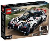 LEGO Technic 42109 Гоночный автомобиль Top Gear на управлении