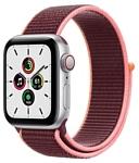 Apple Watch SE GPS + Cellular 40mm Aluminum Case with Sport Loop