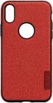 EXPERTS TEXTILE TPU для iPhone X/XS (красный)